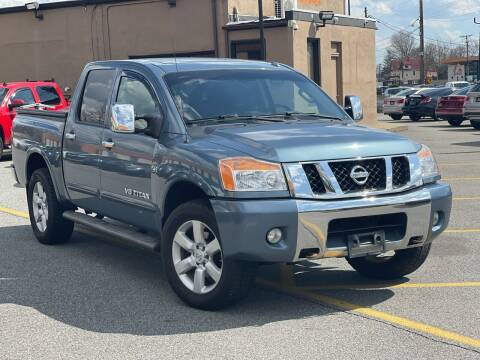 2012 Nissan Titan for sale at MAGIC AUTO SALES in Little Ferry NJ