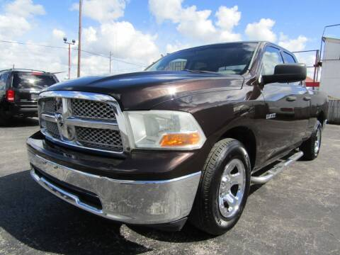 2010 Dodge Ram Pickup 1500 for sale at AJA AUTO SALES INC in South Houston TX