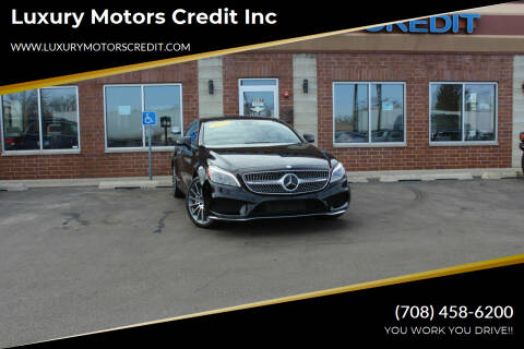2017 Mercedes-Benz CLS for sale at Luxury Motors Credit Inc in Bridgeview IL
