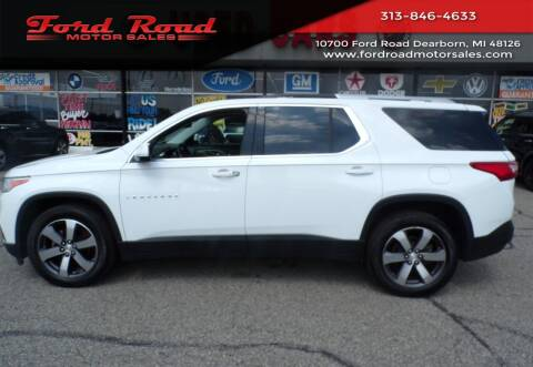 2018 Chevrolet Traverse for sale at Ford Road Motor Sales in Dearborn MI