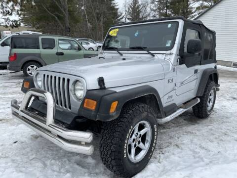 2004 Jeep Wrangler for sale at Williston Economy Motors in Williston VT
