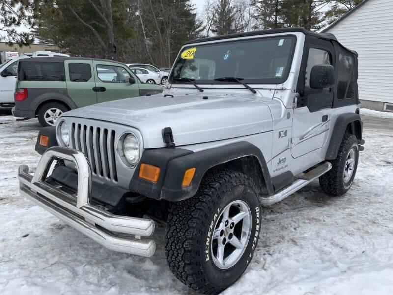2004 Jeep Wrangler for sale at Williston Economy Motors in Williston VT