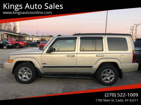 2007 Jeep Commander for sale at Kings Auto Sales in Cadiz KY