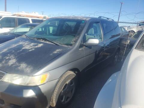 2001 Honda Odyssey for sale at PYRAMID MOTORS - Fountain Lot in Fountain CO