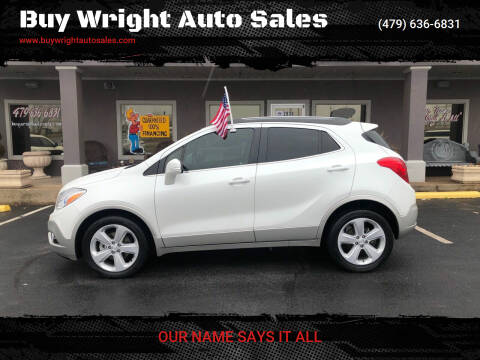 2015 Buick Encore for sale at Buy Wright Auto Sales in Rogers AR