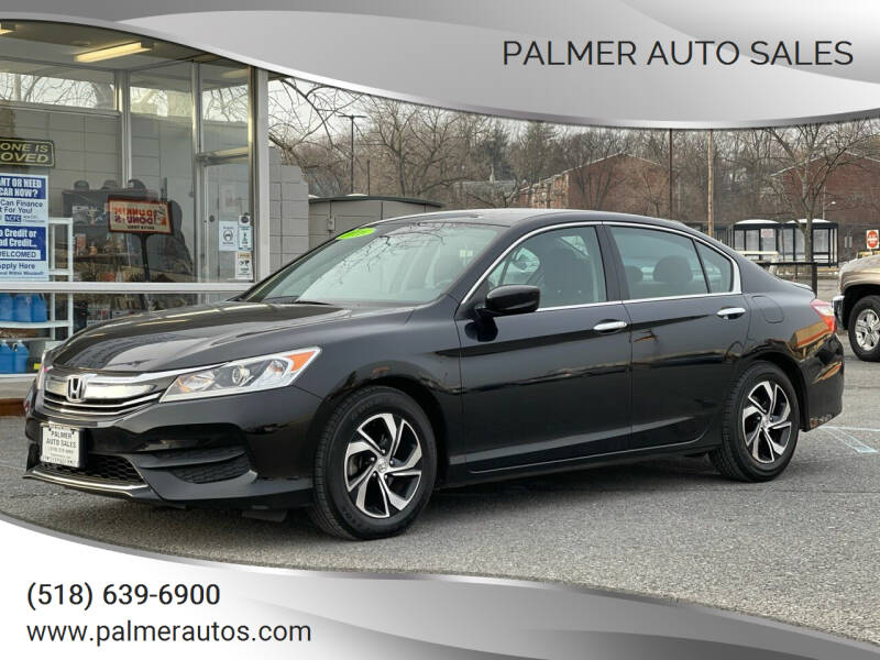 2016 Honda Accord for sale at Palmer Auto Sales in Menands NY