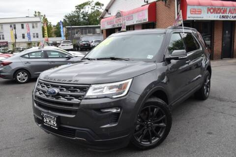 2018 Ford Explorer for sale at Foreign Auto Imports in Irvington NJ