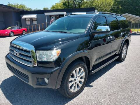 2013 Toyota Sequoia for sale at DON BAILEY AUTO SALES in Phenix City AL