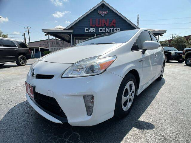 2014 Toyota Prius for sale at LUNA CAR CENTER in San Antonio TX
