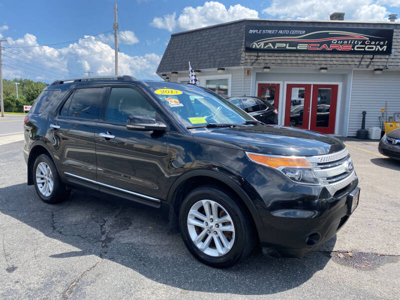 2013 Ford Explorer for sale at Maple Street Auto Center in Marlborough MA