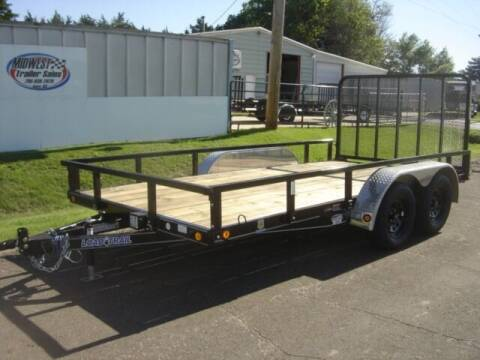 2021 83 X 14 LOAD TRAIL UTILITY for sale at Midwest Trailer Sales & Service in Agra KS