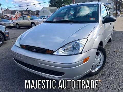 2002 Ford Focus for sale at Majestic Auto Trade in Easton PA