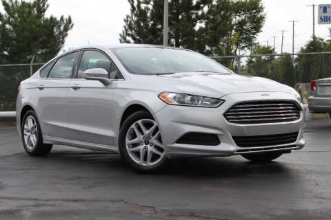 2014 Ford Fusion for sale at Dan Paroby Auto Sales in Scranton PA