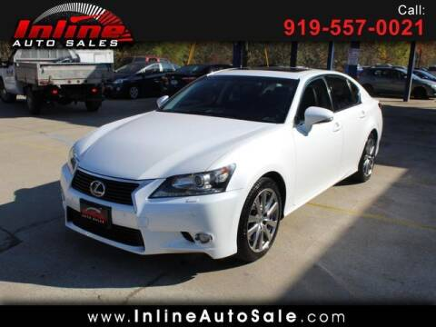 2013 Lexus GS 350 for sale at Inline Auto Sales in Fuquay Varina NC