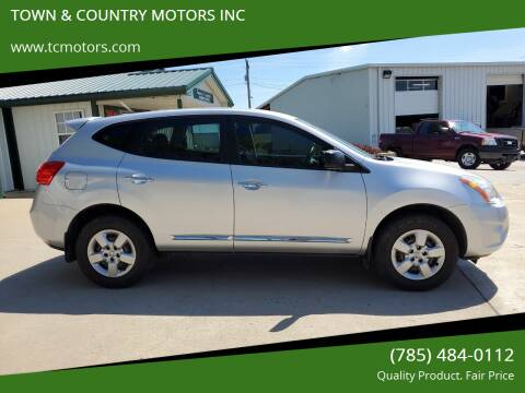 2012 Nissan Rogue for sale at Town & Country Motors Inc. in Meriden KS