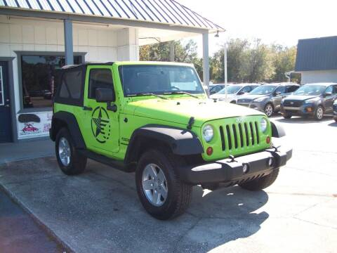2012 Jeep Wrangler for sale at LONGSTREET AUTO in St Augustine FL