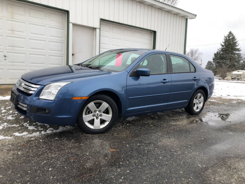 2009 Ford Fusion for sale at Purpose Driven Motors in Sidney OH