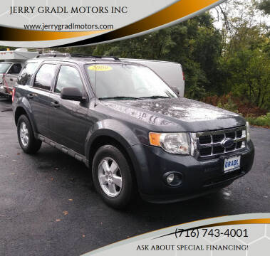 2009 Ford Escape for sale at JERRY GRADL MOTORS INC in North Tonawanda NY