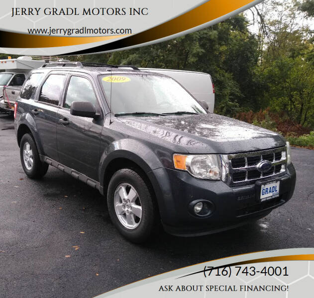 2009 Ford Escape for sale at JERRY GRADL MOTORS INC in North Tonawanda NY