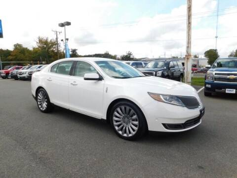 2014 Lincoln MKS for sale at Radley Cadillac in Fredericksburg VA