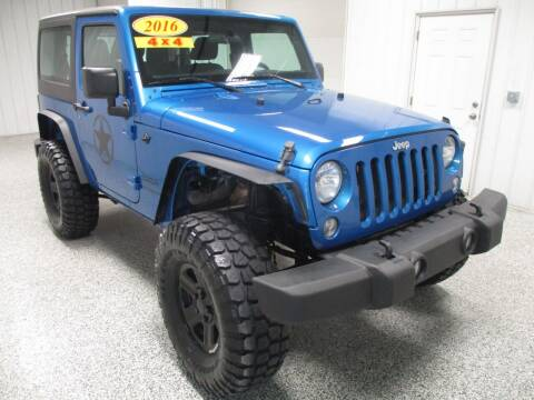 2016 Jeep Wrangler for sale at LaFleur Auto Sales in North Sioux City SD