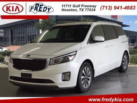 2015 Kia Sedona for sale at FREDYS CARS FOR LESS in Houston TX