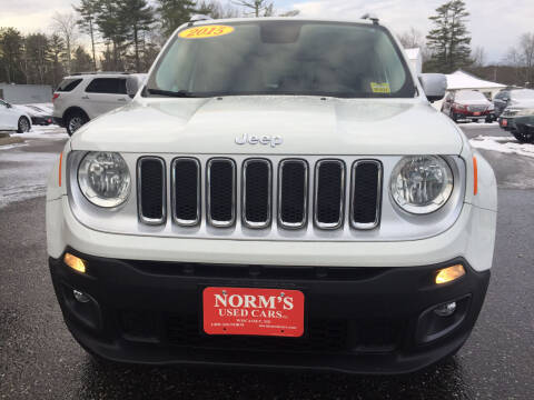 2015 Jeep Renegade for sale at NORM'S USED CARS INC - Trucks By Norm's in Wiscasset ME