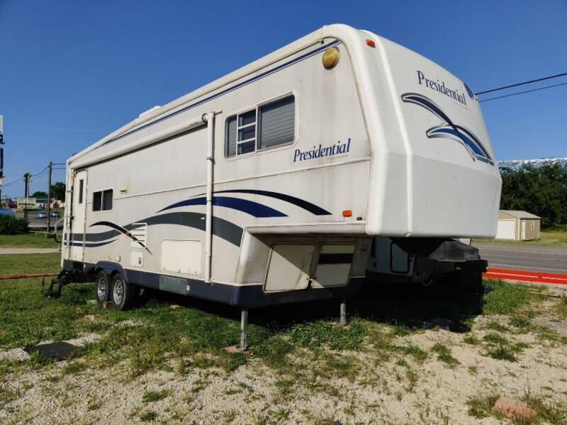 2001 Holiday Rambler PRESIDENTIAL for sale at Texas RV Trader in Cresson TX