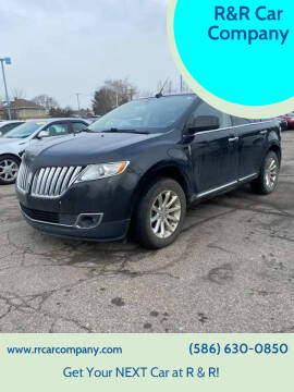 2011 Lincoln MKX for sale at R&R Car Company in Mount Clemens MI
