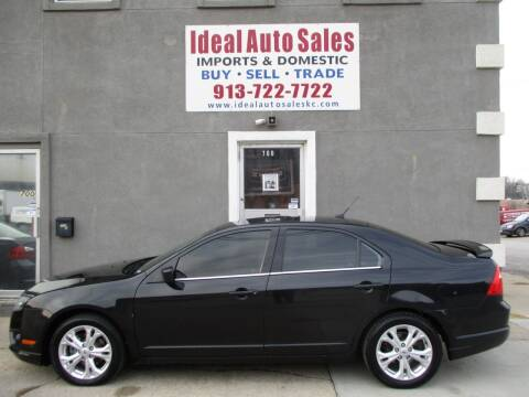 2012 Ford Fusion for sale at Ideal Auto in Kansas City KS