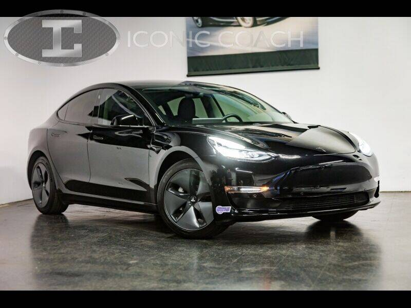 2018 Tesla Model 3 for sale at Iconic Coach in San Diego CA