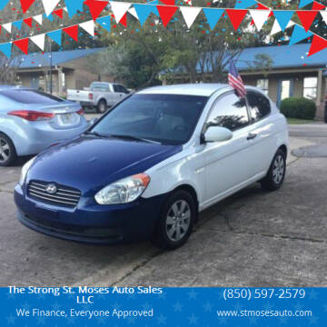 2008 Hyundai Accent for sale at The Strong St. Moses Auto Sales LLC in Tallahassee FL