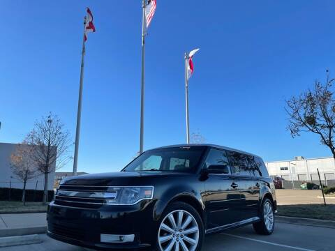 2013 Ford Flex for sale at TWIN CITY MOTORS in Houston TX