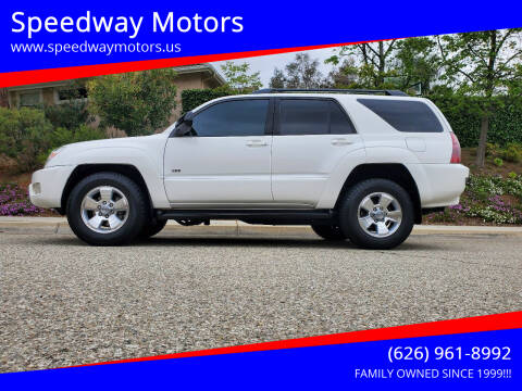 2005 Toyota 4Runner for sale at Speedway Motors in Glendora CA
