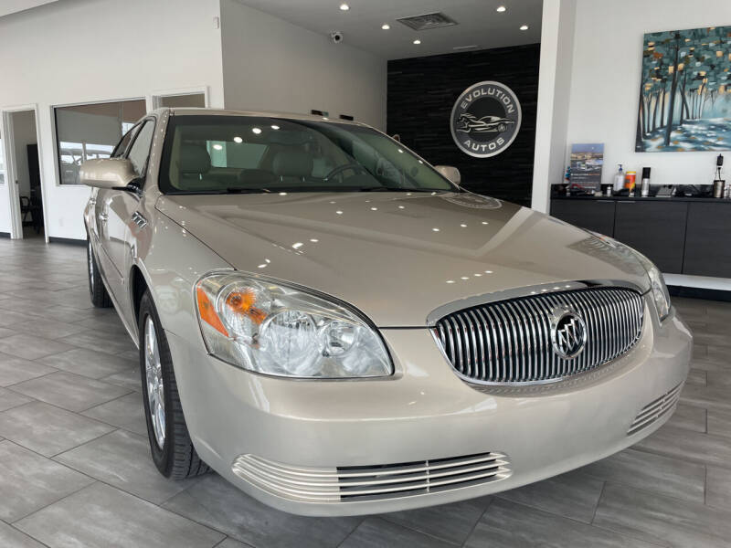 2008 Buick Lucerne for sale at Evolution Autos in Whiteland IN
