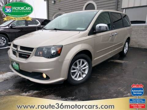 2014 Dodge Grand Caravan for sale at ROUTE 36 MOTORCARS in Dublin OH