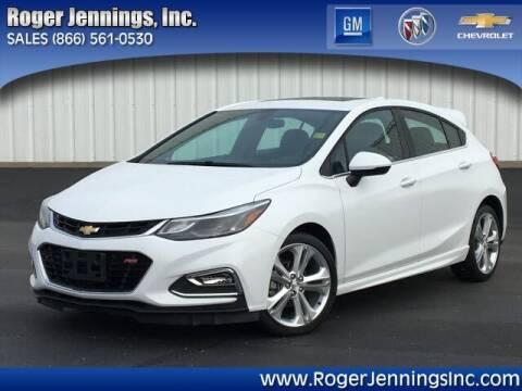 2018 Chevrolet Cruze for sale at ROGER JENNINGS INC in Hillsboro IL