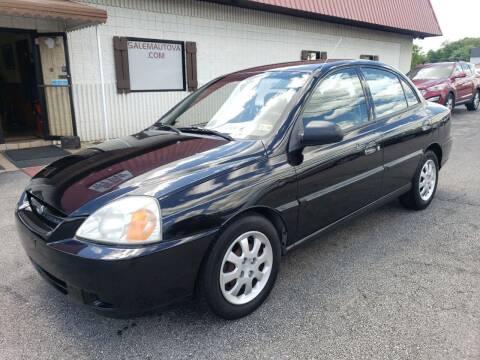 2004 Kia Rio for sale at Salem Auto Sales in Salem VA