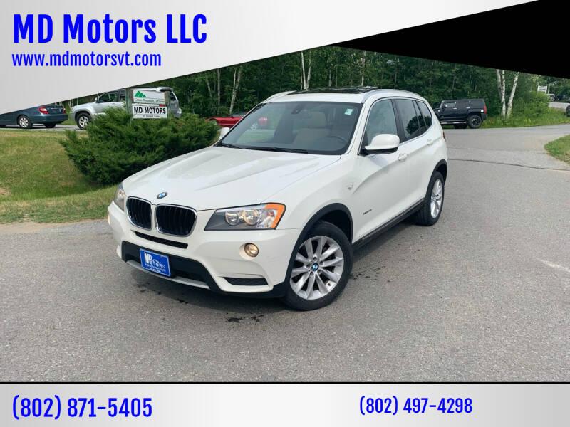 2013 BMW X3 for sale in Williston, VT