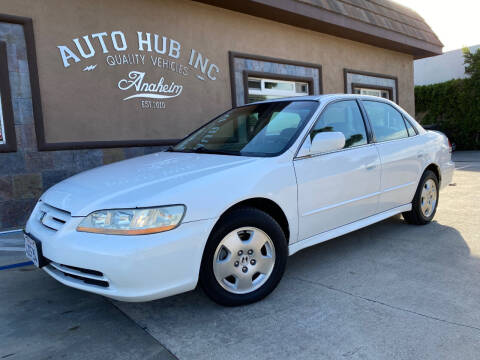 2002 Honda Accord for sale at Auto Hub, Inc. in Anaheim CA