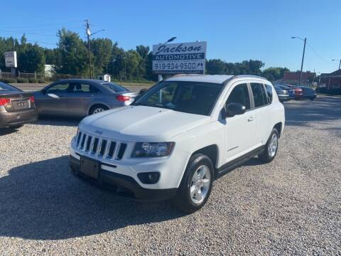 2015 Jeep Compass for sale at Jackson Automotive in Smithfield NC