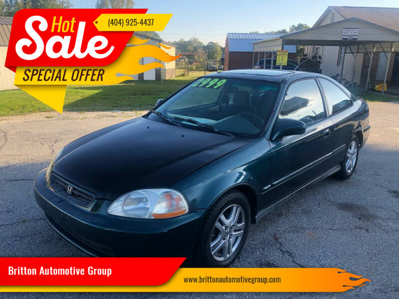 1997 Honda Civic for sale at Britton Automotive Group in Loganville GA