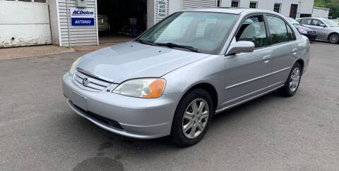 2003 Honda Civic for sale at Manchester Auto Sales in Manchester CT