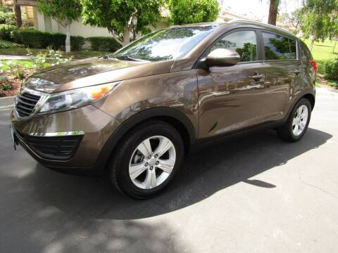 2011 Kia Sportage for sale at E MOTORCARS in Fullerton CA