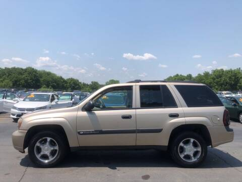 2004 Chevrolet TrailBlazer for sale at CARS PLUS CREDIT in Independence MO