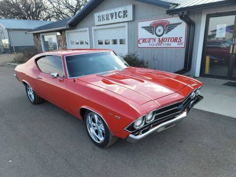 1969 Chevrolet Chevelle Malibu for sale at CRUZ'N MOTORS - Classics in Spirit Lake IA