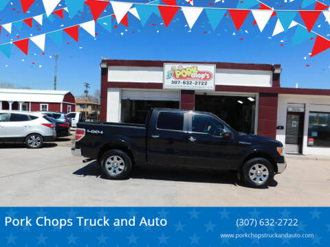 2010 Ford F-150 for sale at Pork Chops Truck and Auto in Cheyenne WY