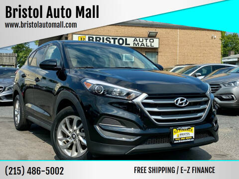2018 Hyundai Tucson for sale at Bristol Auto Mall in Levittown PA