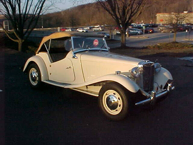 1951 MG TD for sale at North Hills Auto Mall in Pittsburgh PA