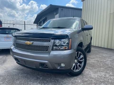 2009 Chevrolet Suburban for sale at TWIN CITY MOTORS in Houston TX